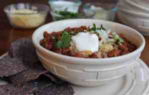 Slow-cooker-turkey-and-beer-chili
