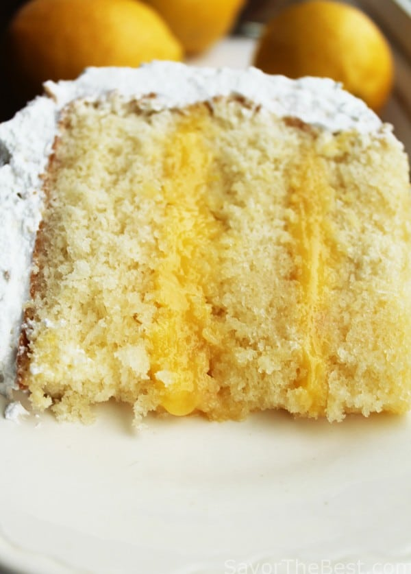 Calories In Lemon Curd Cake With Frosting