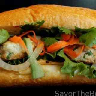 Chicken Banh Mi Sandwich