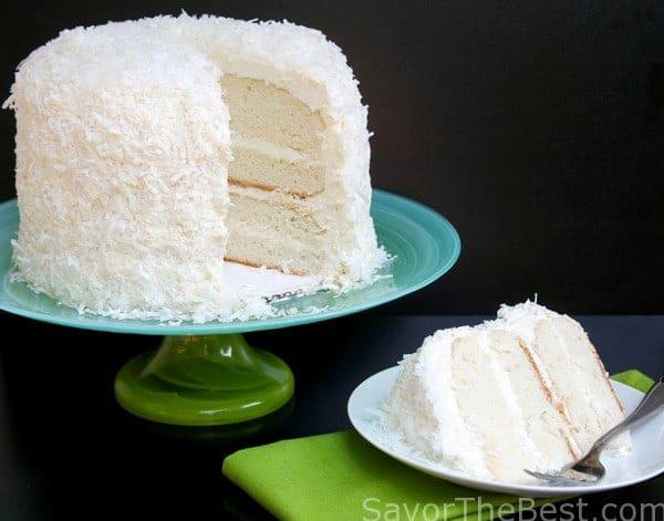 Small Coconut Cake Recipe