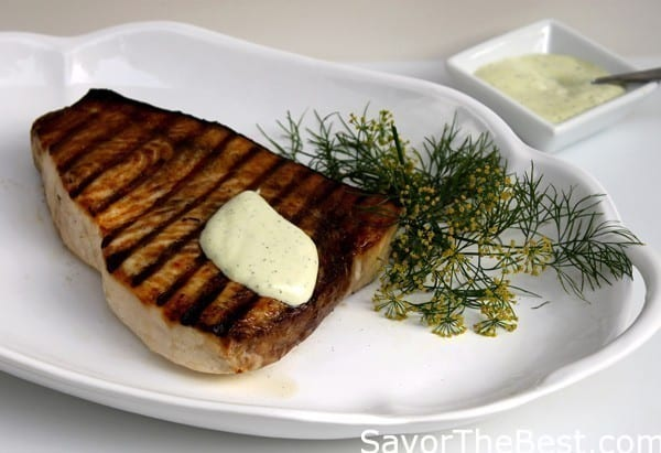 Grilled-Swordfish-Steak-with-Lemon-Dill-Aioli-Sauce-2