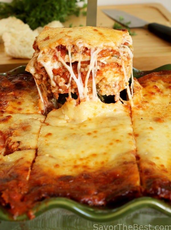 Beef And Sausage Lasagna Savor The Best