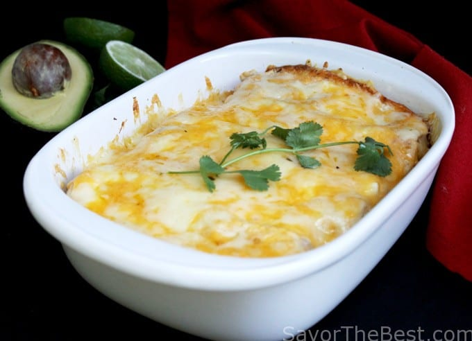 Chipotle Chicken Enchilada