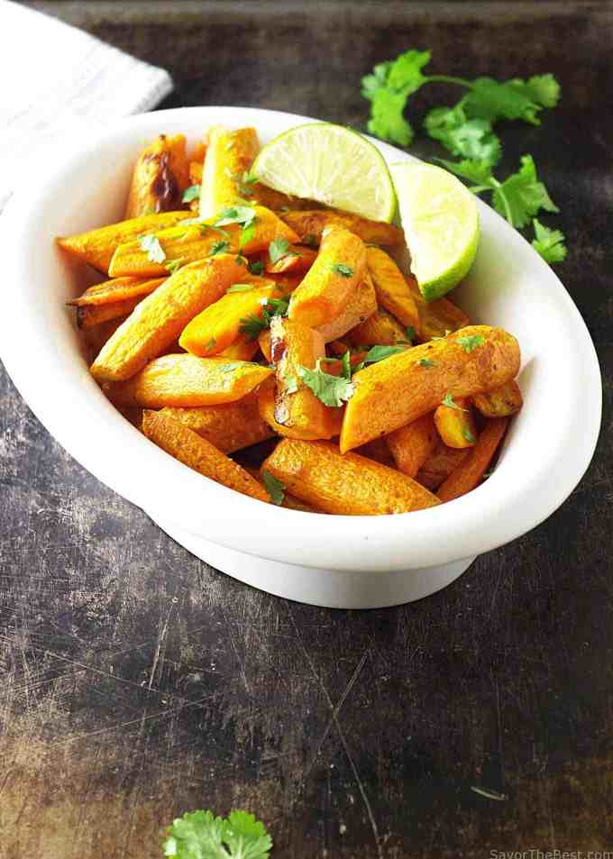 cilantro lime carrots