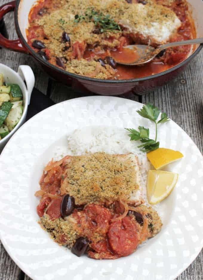 halibut provencal