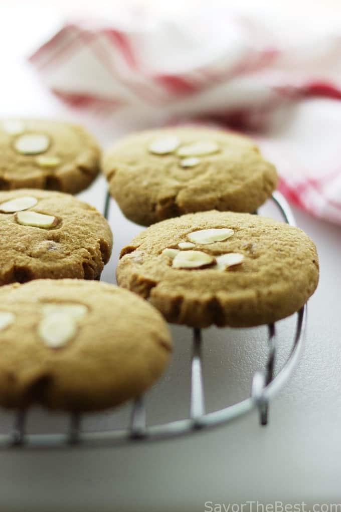 Triple Ginger-Almond Cookies