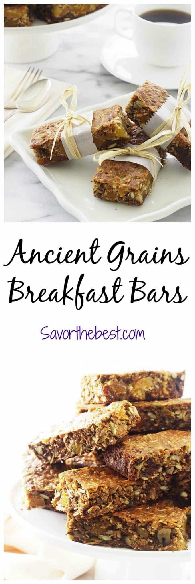 ancient grains breakfast bars