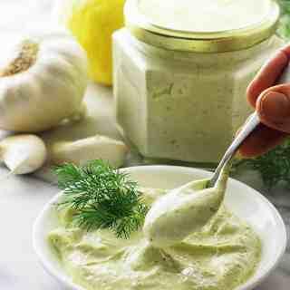 Lemon-Dill Aioli Sauce