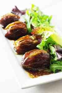 Gorgonzola-Chorizo Stuffed Dates