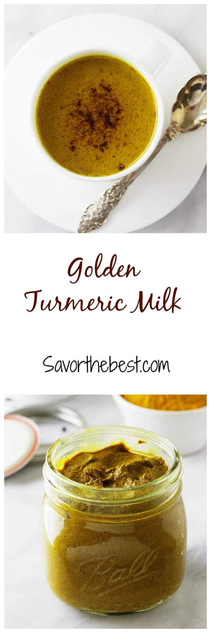 turmeric milk (golden milk)