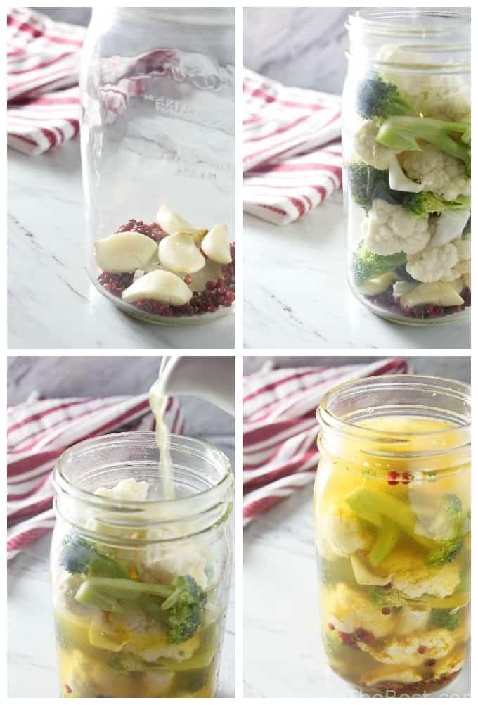 zesty curried probiotic vegetables