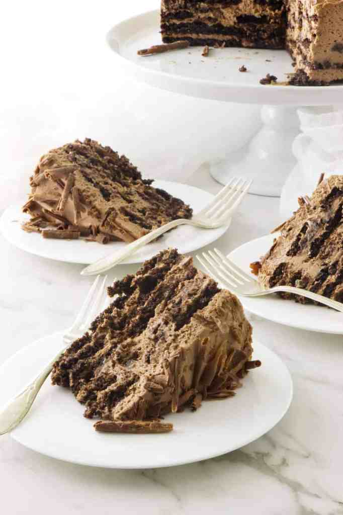 Mocha Chocolate Icebox Cae