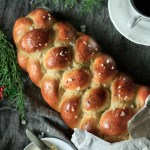 loaf of pulla, Finnish cardamom bread