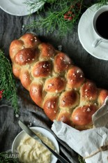 loaf of pulla, Finnish cardamom bread