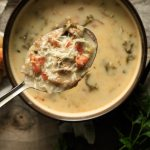 spoonful of zuppa toscana