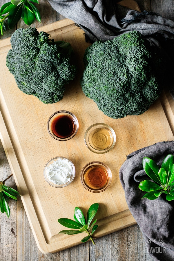 sauce ingredients for chicken and broccoli stir fry