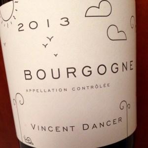 Vincent Dancer Bourgogne 2013