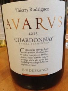 Thierry Rodriguez Chardonnay