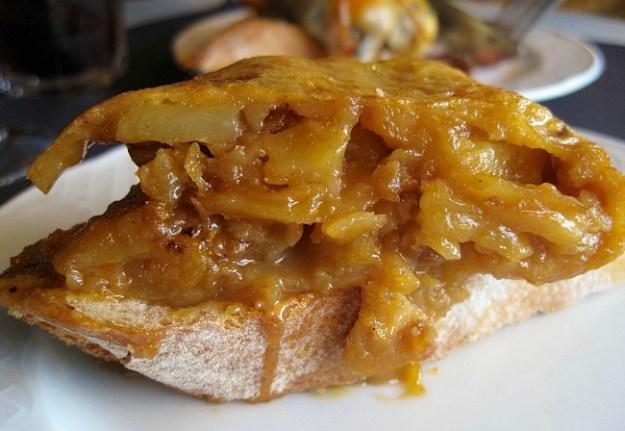 Ouzy, delicious Spanish Potato Omlette