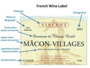 understanding french burgundy wine label