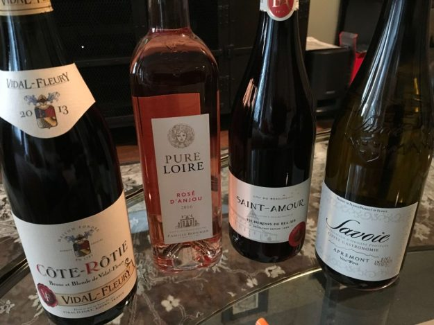 four wines for celebration