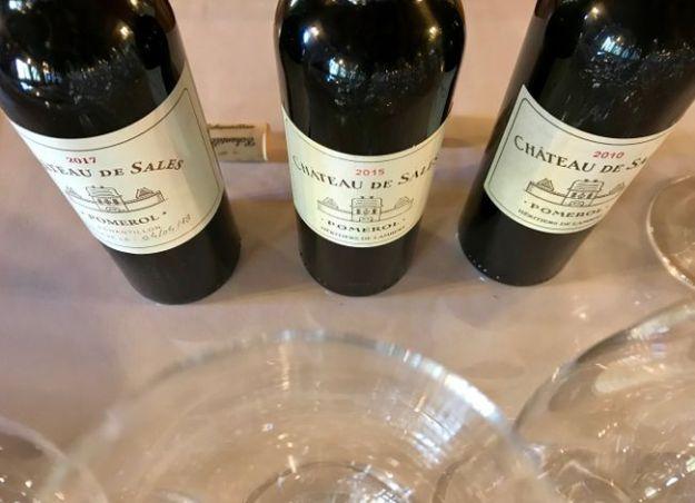 Château de Sales wine pomerol bordeaux 2010 2015 2017