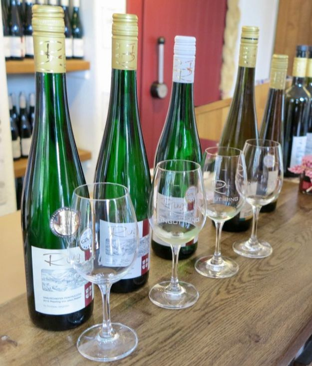 Cochem an der Mosel Weingut Ring Riesling Erbling