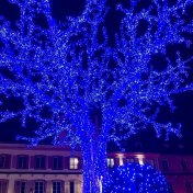 holiday lights christmas in france