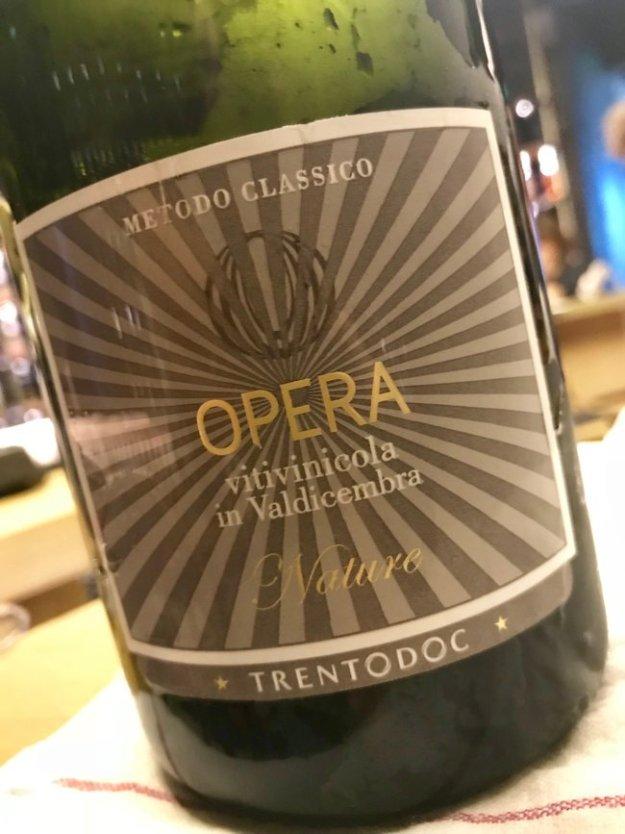 Opera Trento DOC brut metodo classico Italian sparkling wine