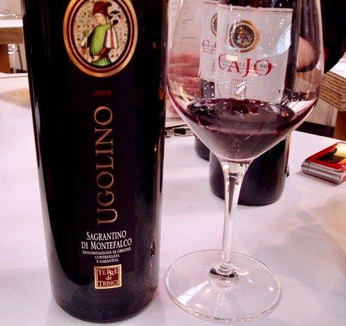 sagrantino di montefalco umbria italian wine Ugolino