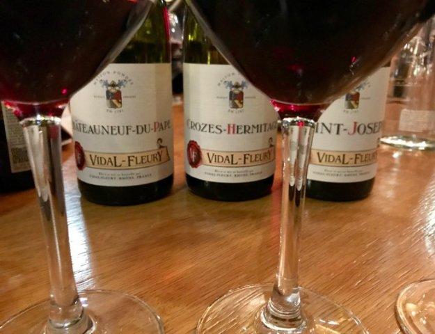 Vidal-Fleury Rhone Valley Chateauneuf-du-Pape wine