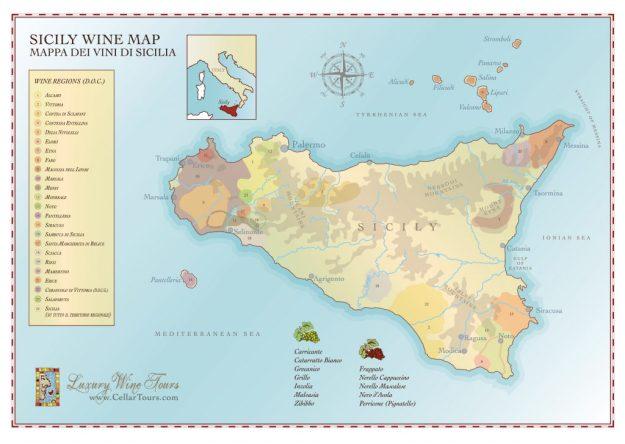 Sicily Sicilia Pantelleria Island