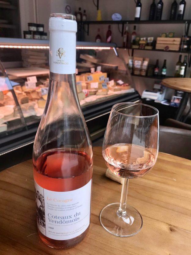 le cocagne loire valley cave du vendômois rosé les vignerons