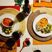 Rasteau AOC cru confit de canard food wine pairing
