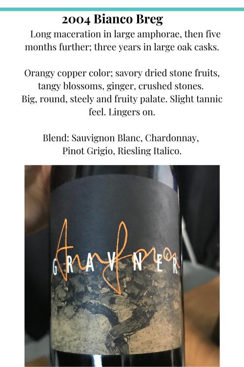 Biancobreg josko gravner 2004 wine