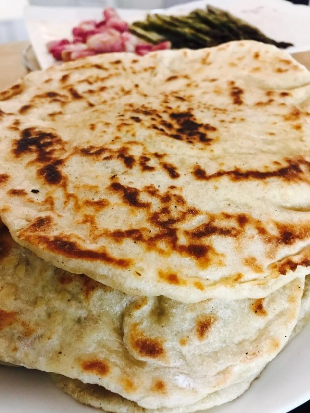 naan bread home made