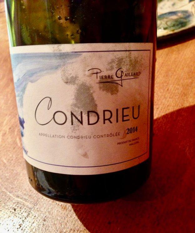 Pierre Gaillard Condrieu french wine