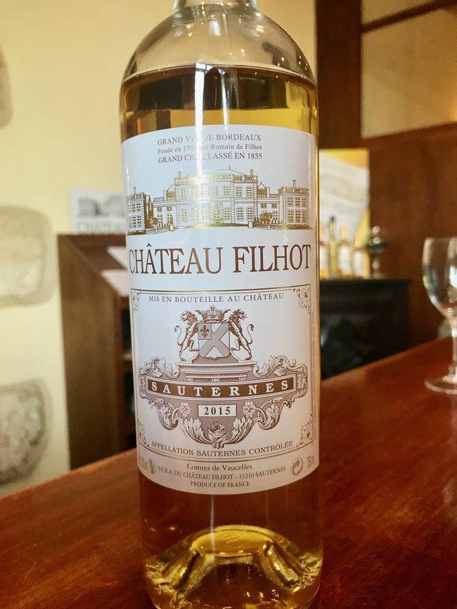 Chateau Filot Zest sauternes wine vin