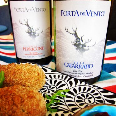 Super wines from organic Sicilian producer Porta del Vento! Both grapes are native to Sicily.