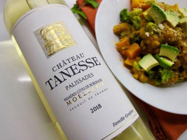 Chateau Tanesse Moelleux Bordeaux wine