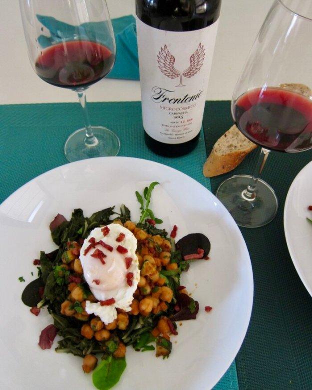 Garbanzos con Espinacas recipe wine pairing