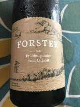 From the Nahe, Weingut Forster