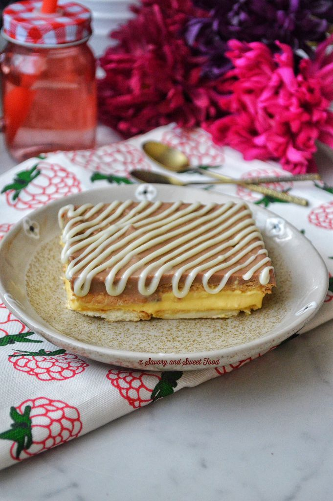 No-Bake-Chocolate-and-Cream-Layer-Pudding