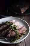 Brazilian Steak with Chimichurri Sauce