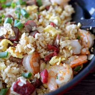 Hawaiian Island Style Fried Rice