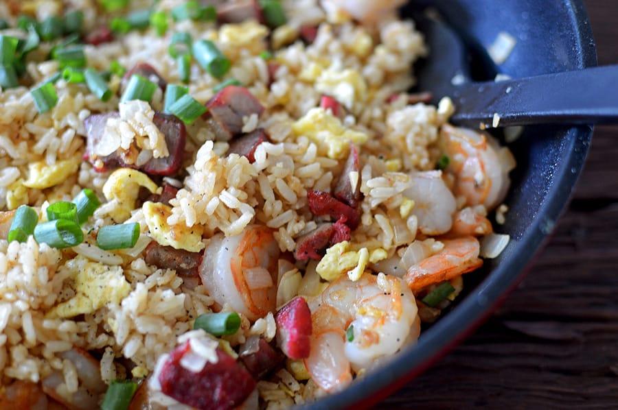 Hawaiian Island Style Fried Rice DSC_0288