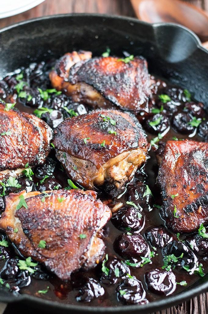 Roasted Black Cherry Balsamic Chicken DSC_0301