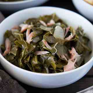 Slow Cooker Southern Collard Greens  dsc_0442