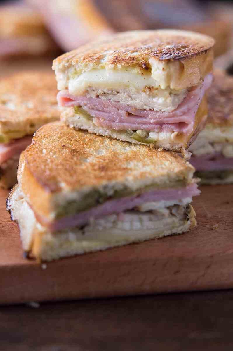 Turkey Cuban Sandwiches