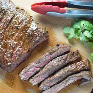 Citrus Marinated Skirt Steaks